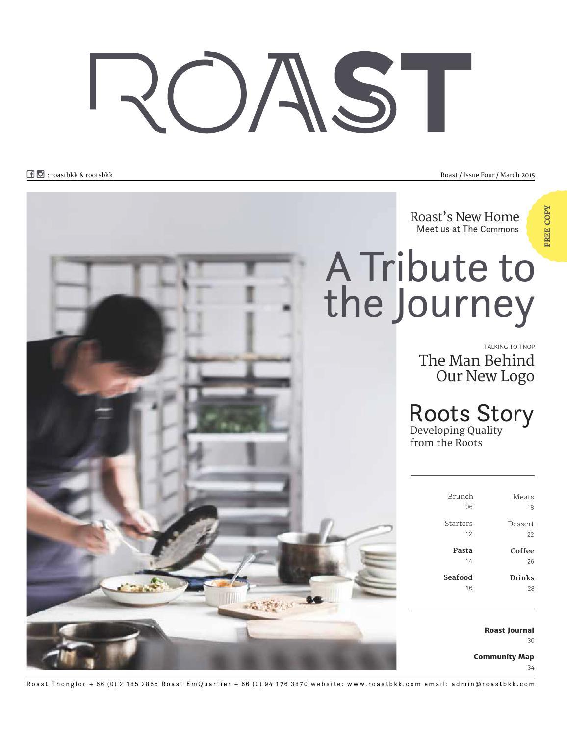Roast Journal #4 by Pam Vivatsurakit - issuu