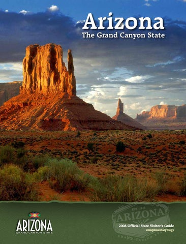 Arizona Official State Visitors Guide by Tad Smith Publication