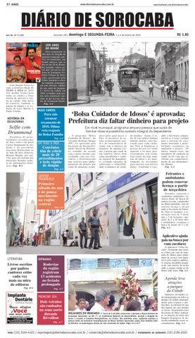 Edição de 3 de janeiro de 2016 by DIÁRIO DE SOROCABA - issuu 2037954d7a47d