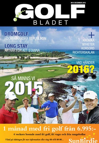 1319ac869d7 Golfbladet 2015/6 by Fredrik Richter - issuu