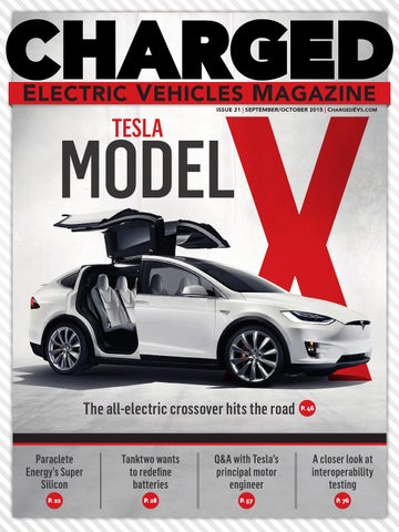 Page 1 X Electric Vehicles Magazine