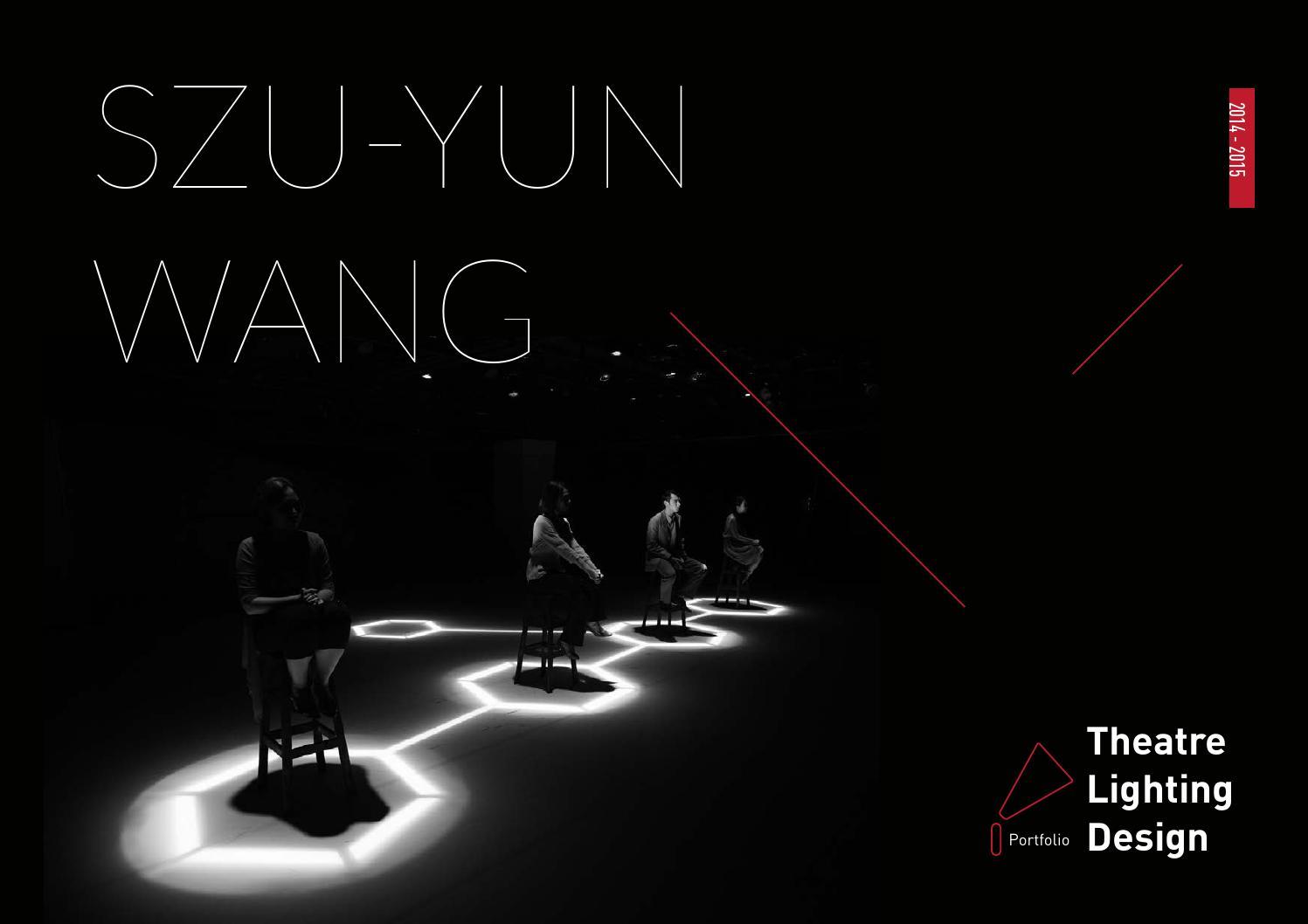 Szu Yun Theatre Lighting Design Portfolio By Celine