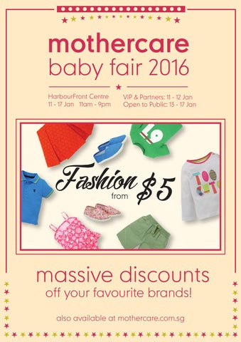 Baby Fair 2016 Flyer By Mothercare Sg Issuu
