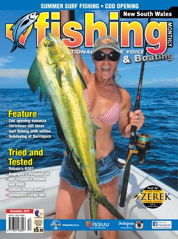 new south wales fishing monthly december 2015 by fishing monthly
