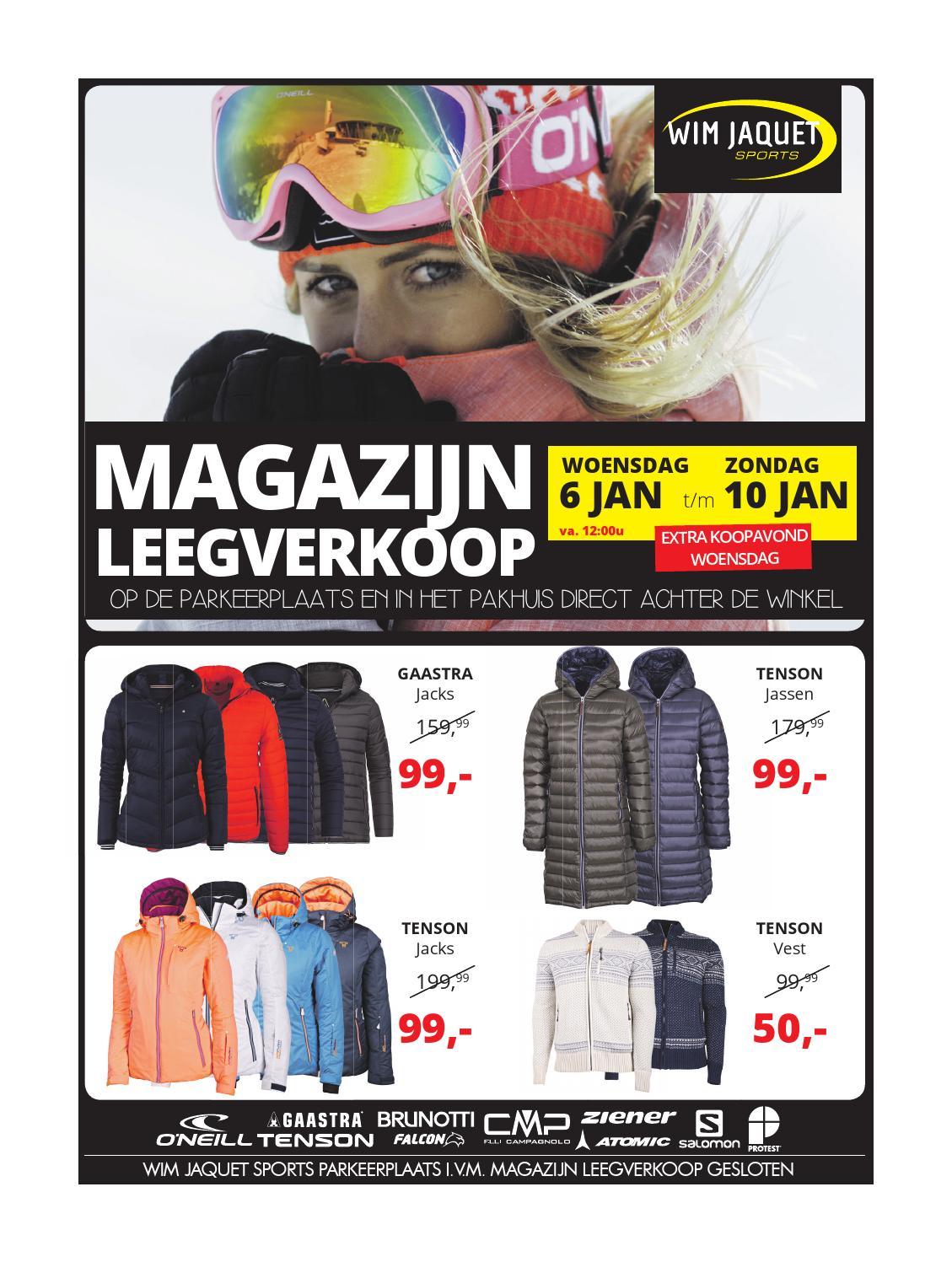 Magazijn leegverkoop by intersport daka amersfoort issuu for Koopavond amersfoort