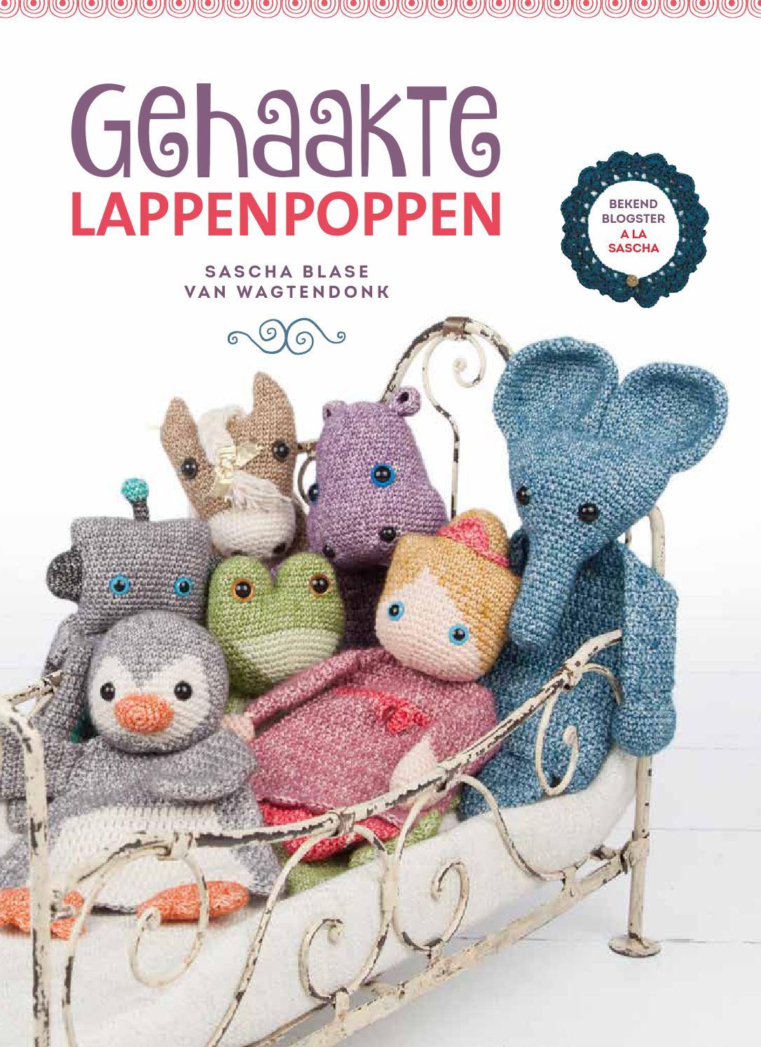 Inkijkexemplaar Gehaakte Lappenpoppen Sascha Blase Van Wagtendonk