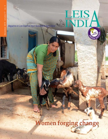 Women forging change by LEISA India - issuu