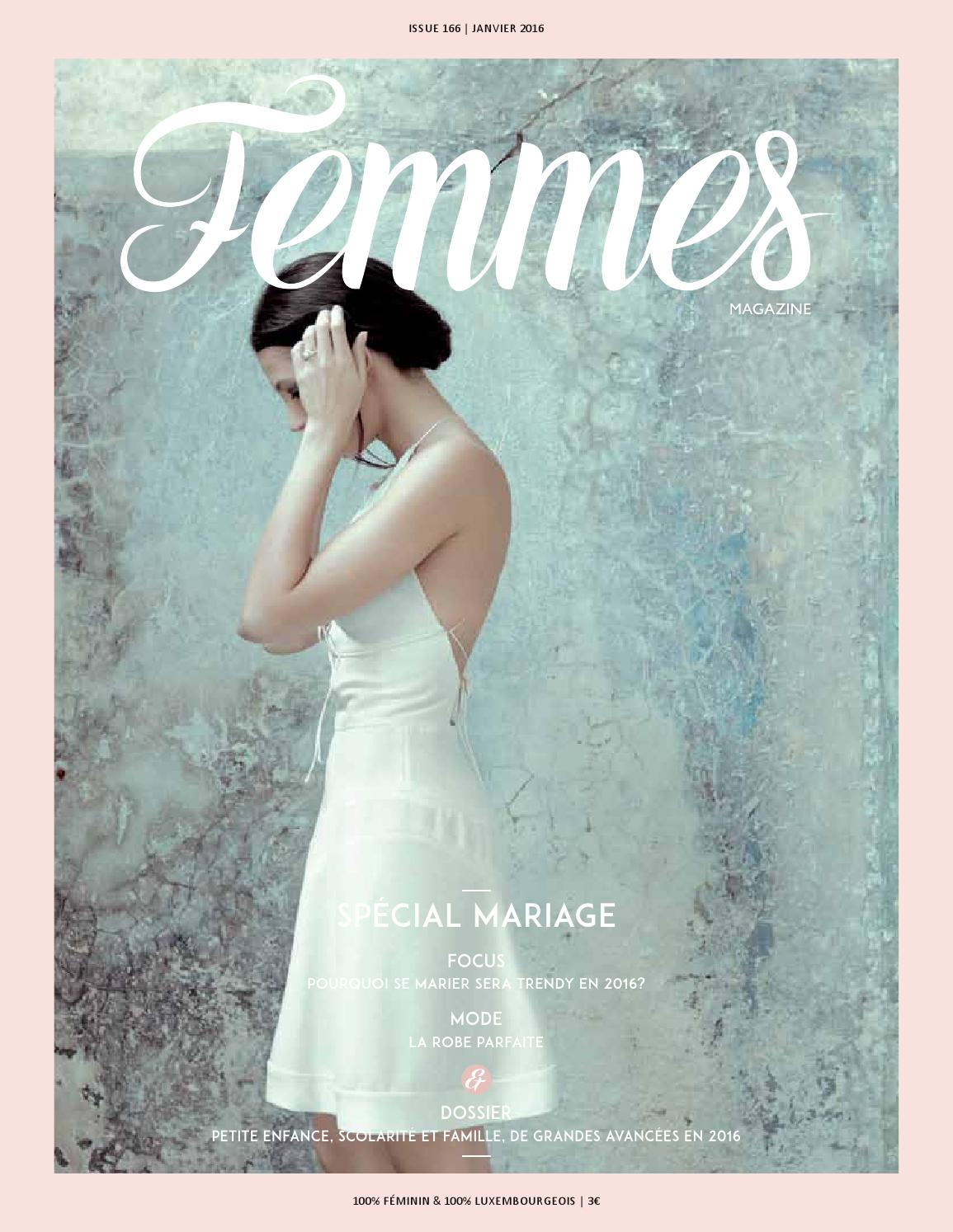2dc87b7c6d Femmes Magazine Luxembourg Janvier 2016- 166 by alinea communication - issuu