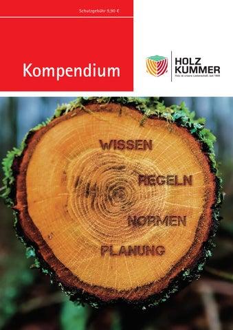 Kompendium Holz Kummer 2016 By Kaiser Design Issuu