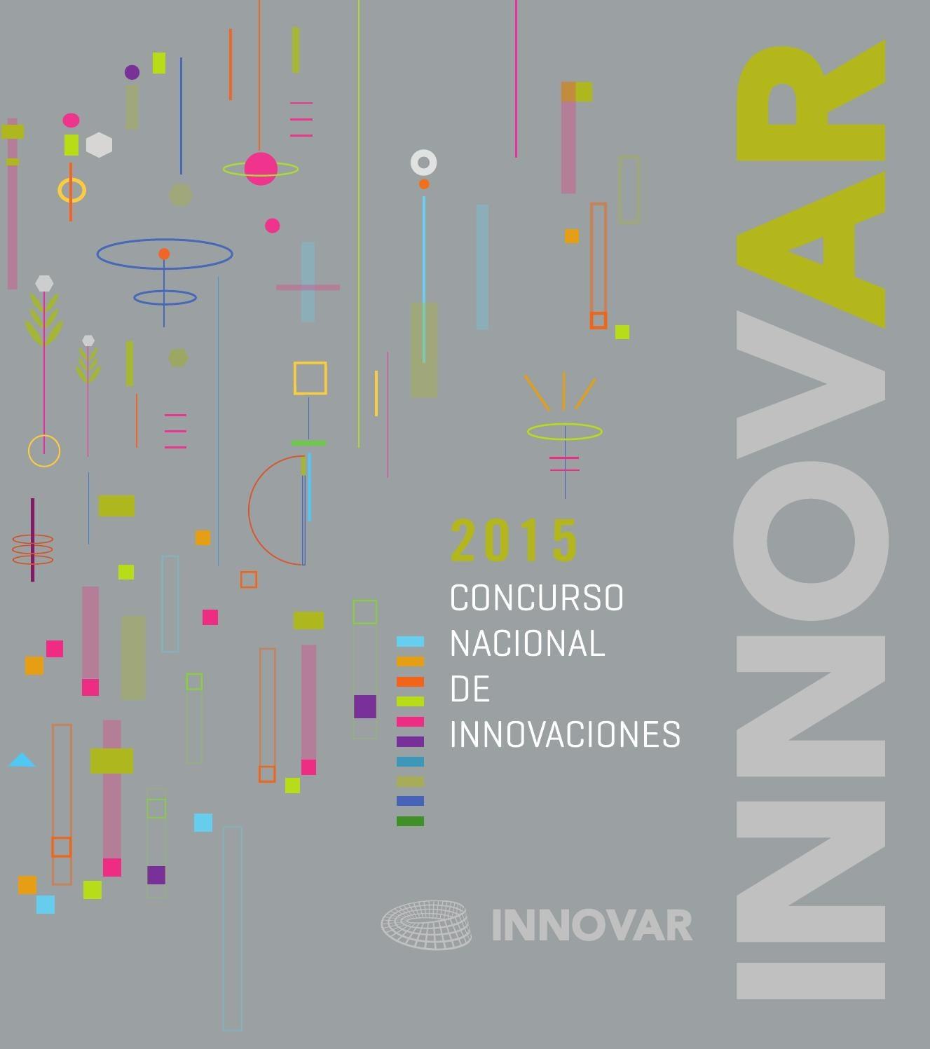Innovar 2015 by Concurso INNOVAR - issuu