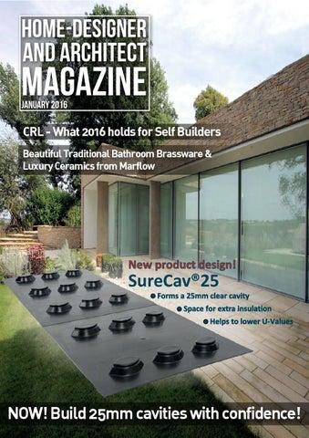 home designer and architect january 2016 by jet digital media ltd