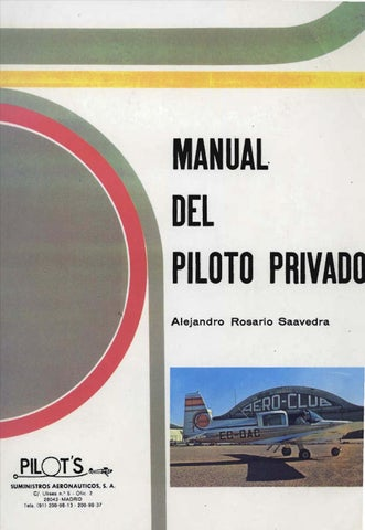 a54b4c3e6b Manual del Piloto Privado by Flightmex Escuela de Aviacion - issuu