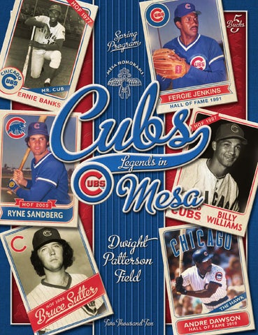 cf9487baf2d Cubs Spring Training Program by Publication Layout - issuu