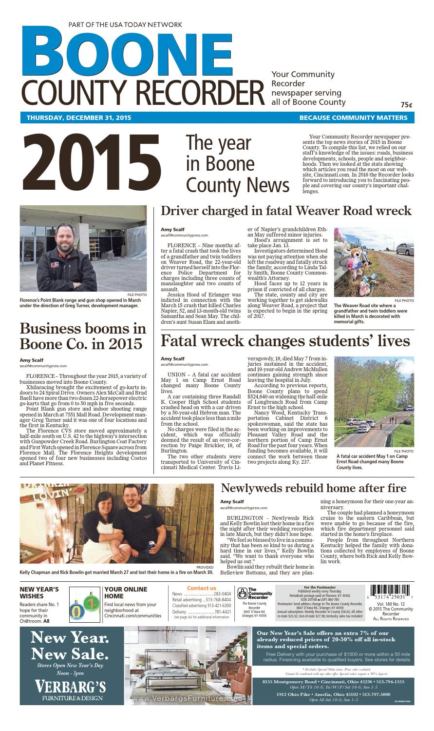 Boone county recorder 123115 by Enquirer Media - issuu on