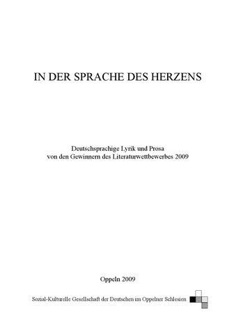 In der Sprache des Herzens 2010 by NiemcywPolsce - issuu