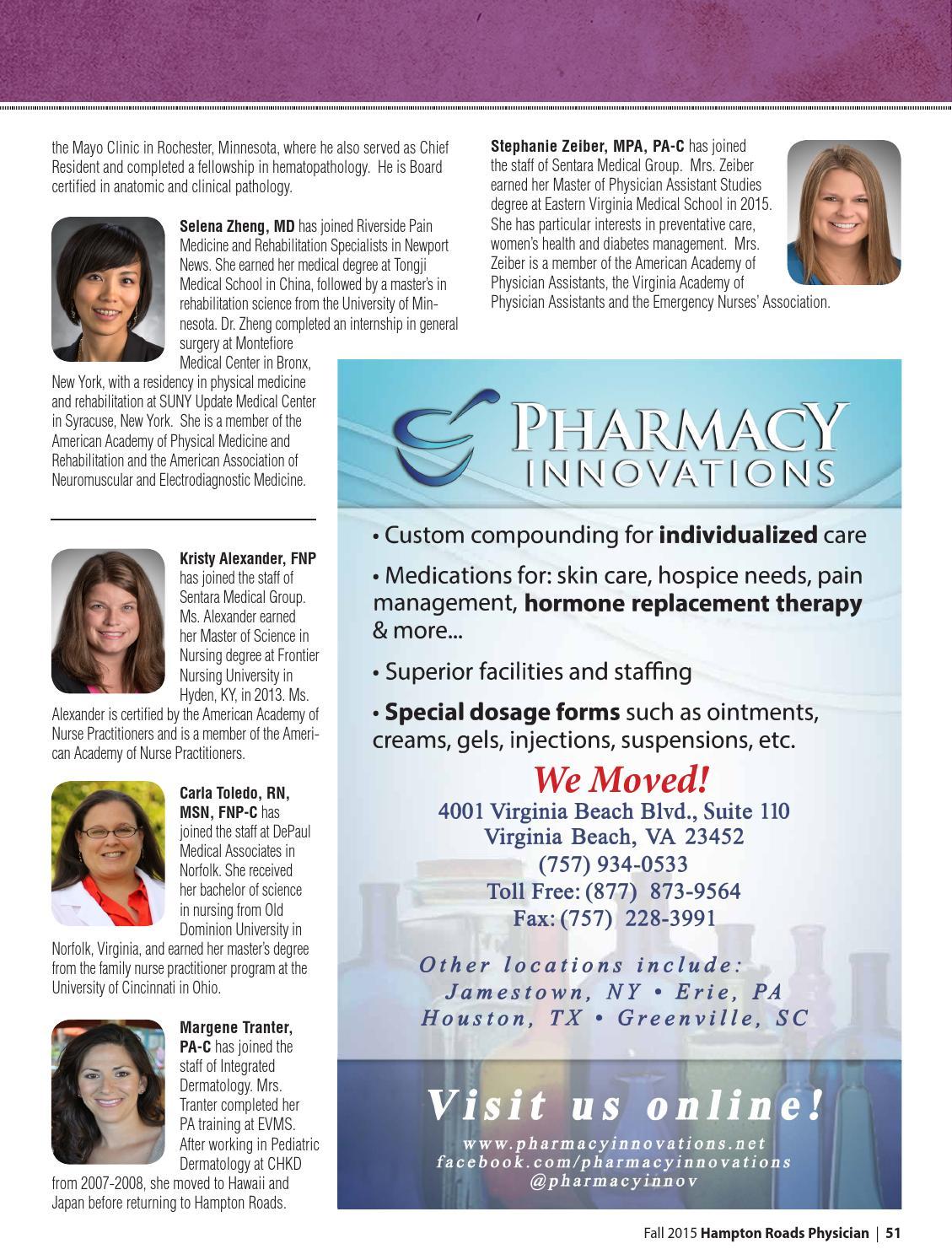 Hampton Roads Physician 2015 by Hampton Roads Physician Magazine - issuu