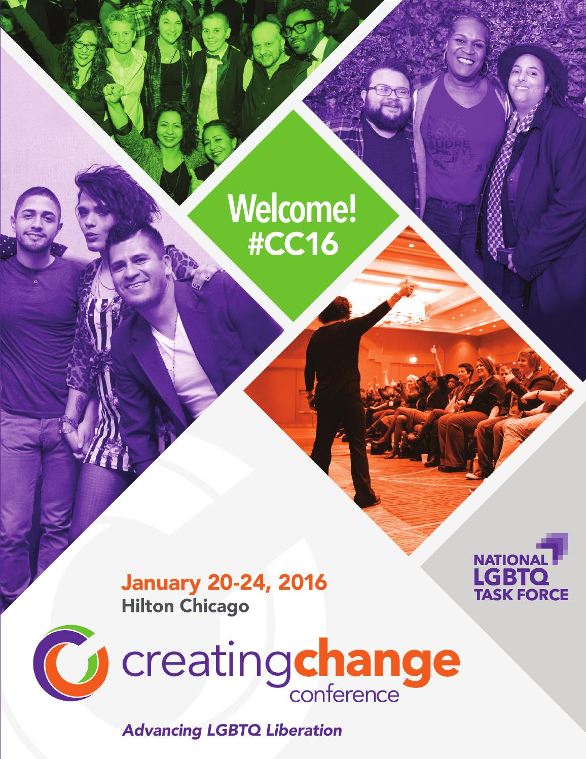 Creating Change Conference - Program - January 20-24, 2016 by National  LGBTQ Task Force - issuu
