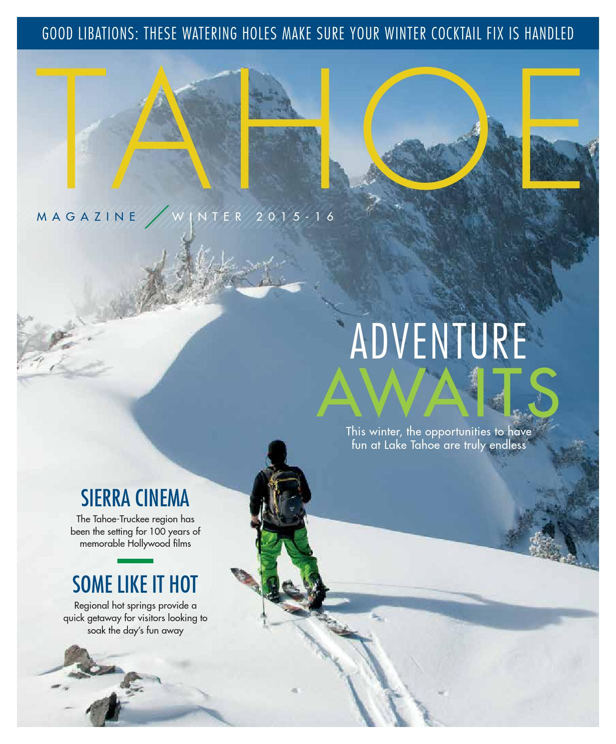 798d37864a87 Tahoe Magazine    Winter 2015 - 2016 by Colorado Mountain News Media ...