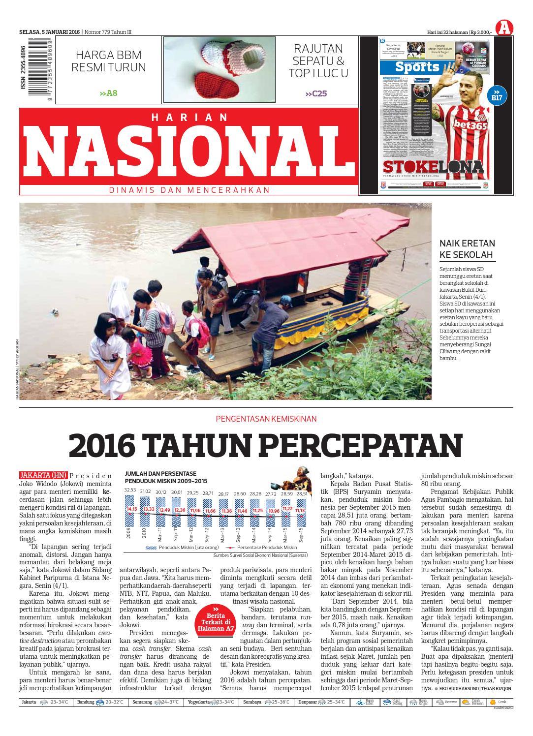 Harian Nasional By Issuu Produk Ukm Bumn Tas Ransel Threepoint