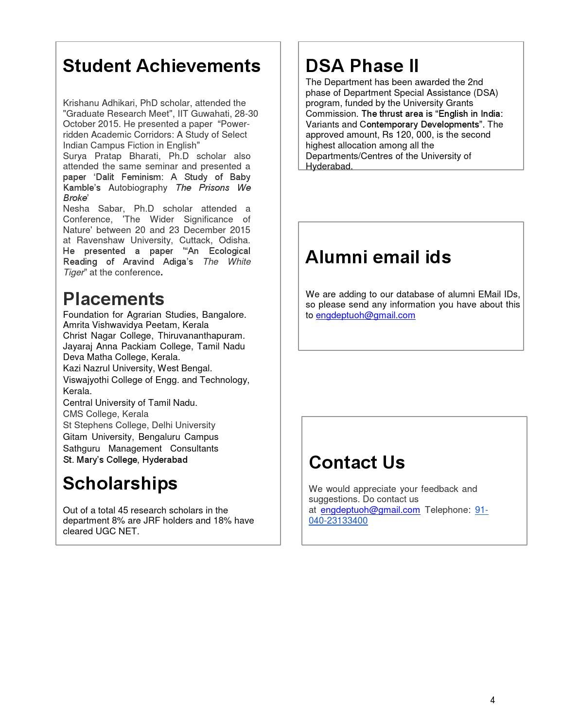 English Letters - Issue 1 by University of Hyderabad - issuu