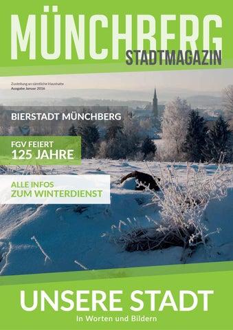 Münchberg stadtmagazin ausgabe januar 2016