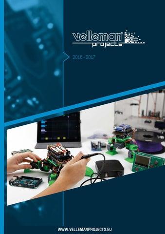 Velleman Kit-MK115-MK115 Sonomètre Mini Kit