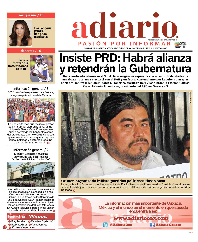 05 ene6 by Adiario Oaxaca - issuu 80486ecb5bdf
