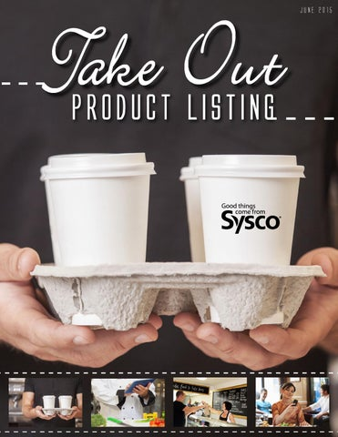 Take out guide 2015 by Sysco Hampton Roads - issuu