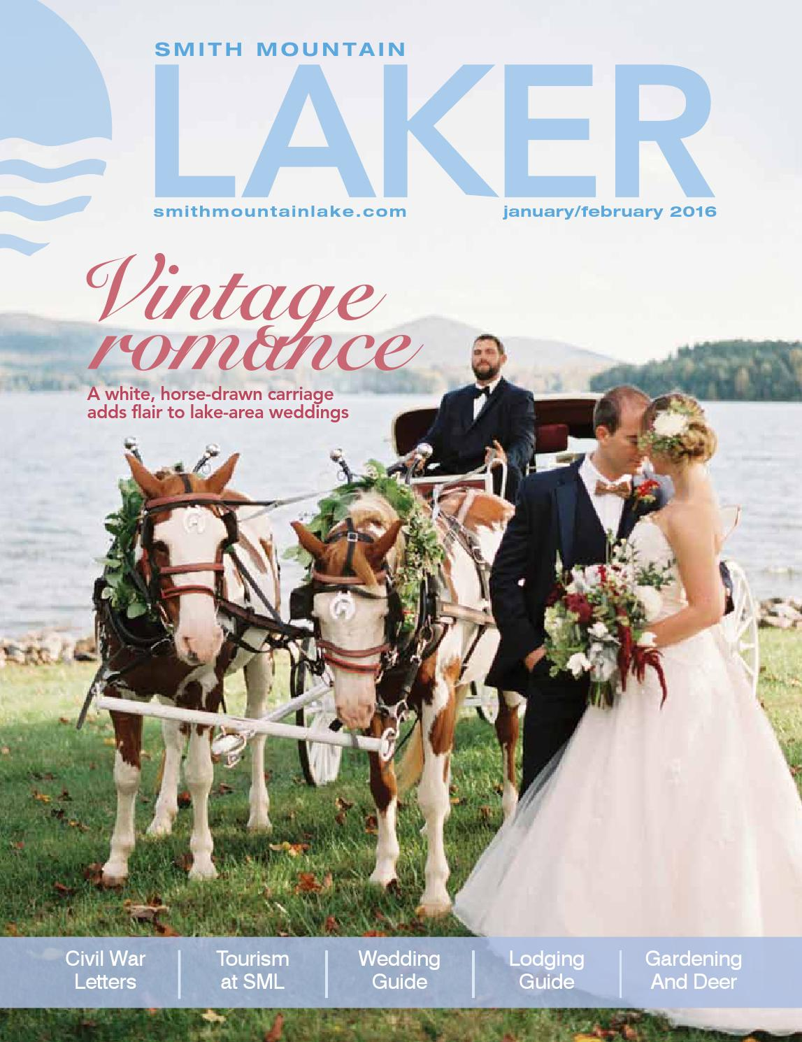 Laura steele tom griswold wedding - Laker Magazine January February 2016