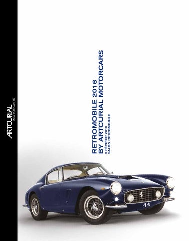 check out 517c1 f2ea8 Rétromobile 2016 by Artcurial Motorcars by Artcurial - issuu