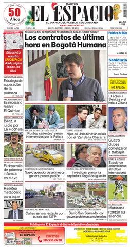 9631dac4 DIARIO EL ESPACIO by DIARIO EL ESPACIO - issuu