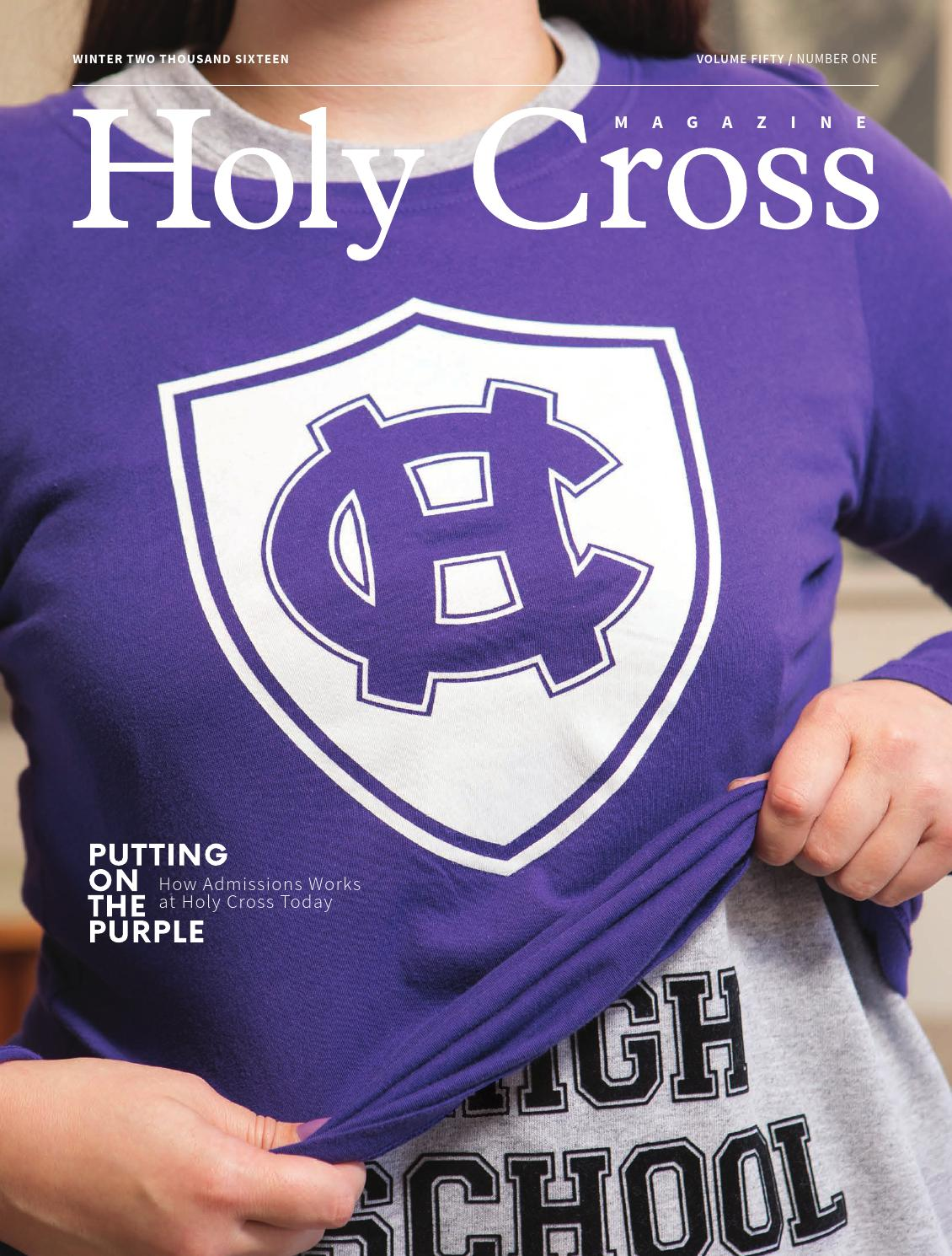 7a72387b3df Holy Cross Magazine - Winter 2016 by College of the Holy Cross - issuu