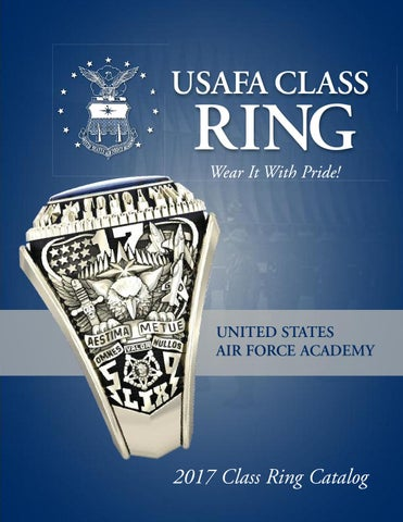 USAFA Class Ring Catalog by Jostens - issuu