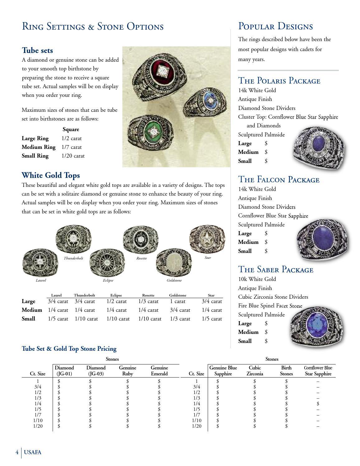 USAFA Class Ring Catalog by Jostens - issuu