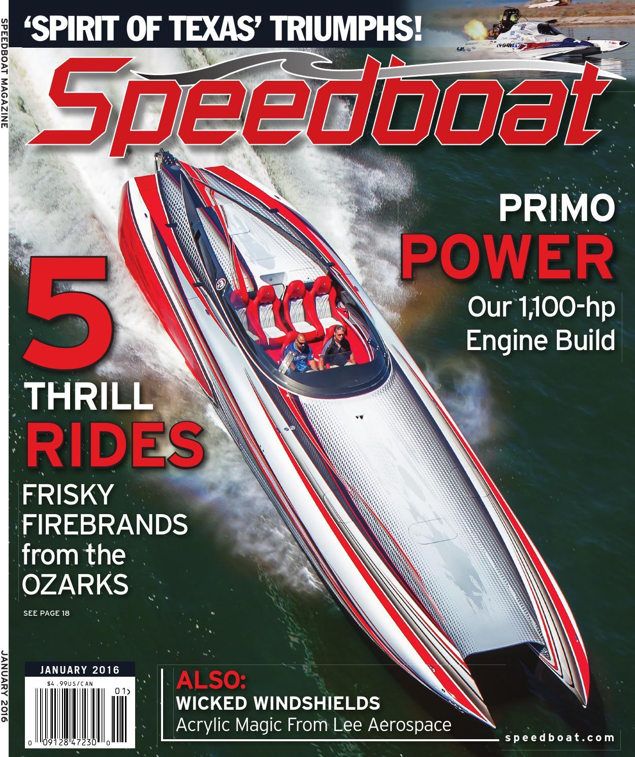 speedboat online january 2016 by brett bayne issuu