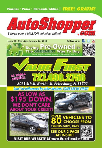 Honda Dealers In Pa >> AutoShopper.com - Pinellas Pasco Hernando Edition by ...