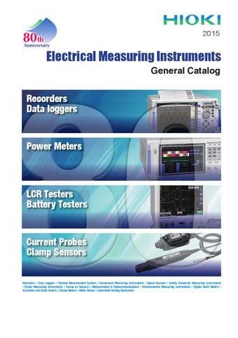HIOKI 3351 12ch 5A Power Supply Line Monitor