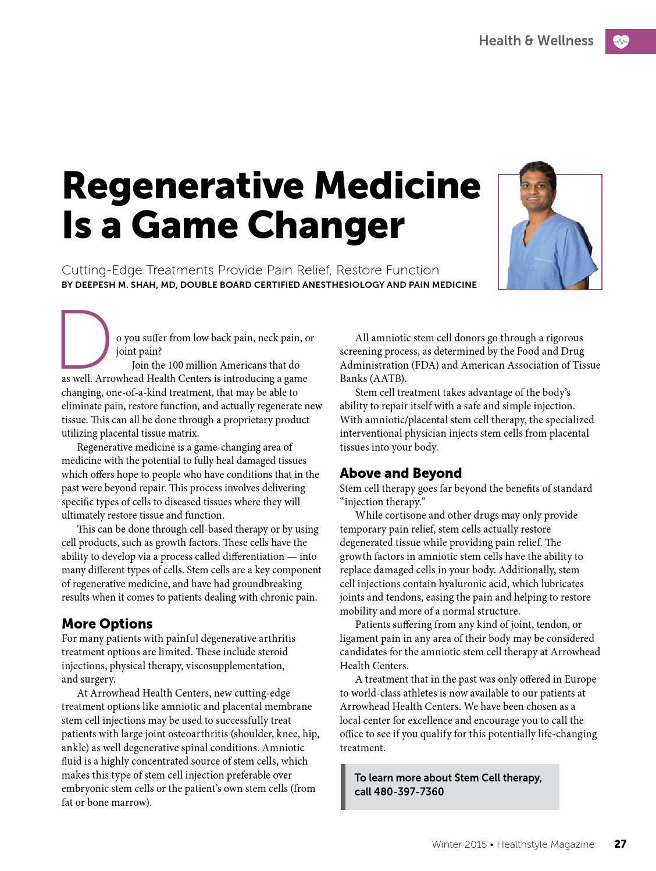 Healthstyle Magazine - Winter 2015 by healthstylemagazine