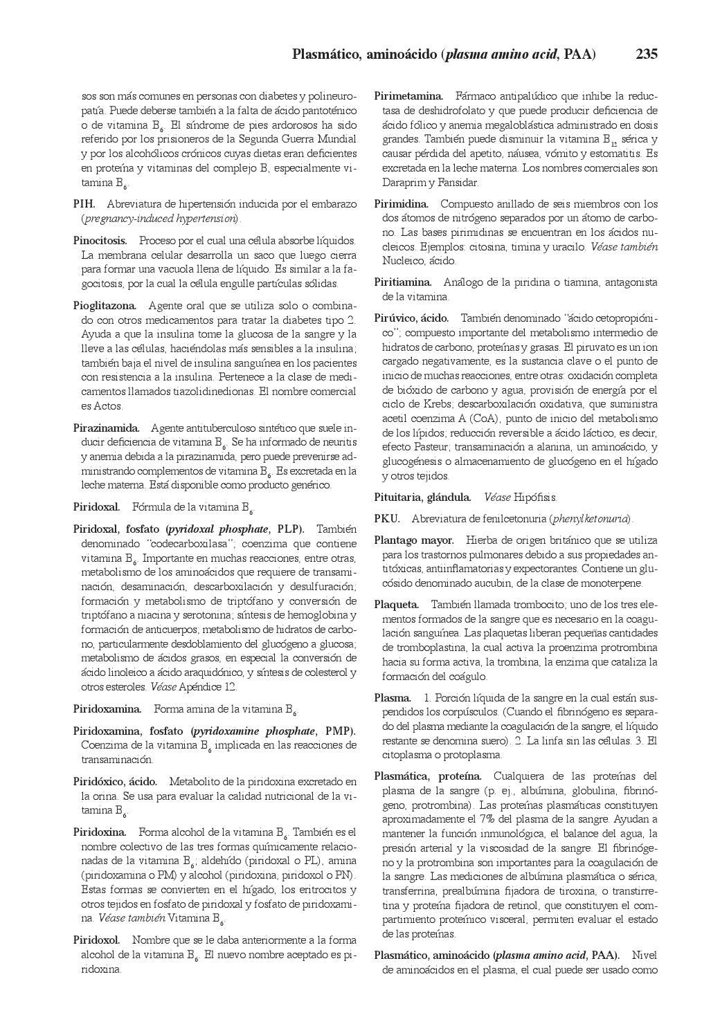 dieta de diabetes con fosfato de piridoxal