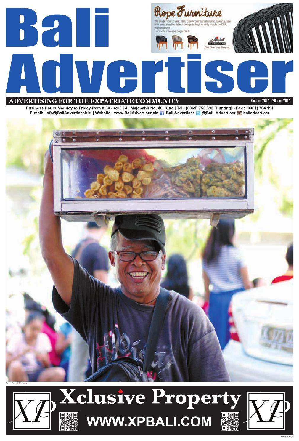 Ba 06 January 2016 By Bali Advertiser Issuu