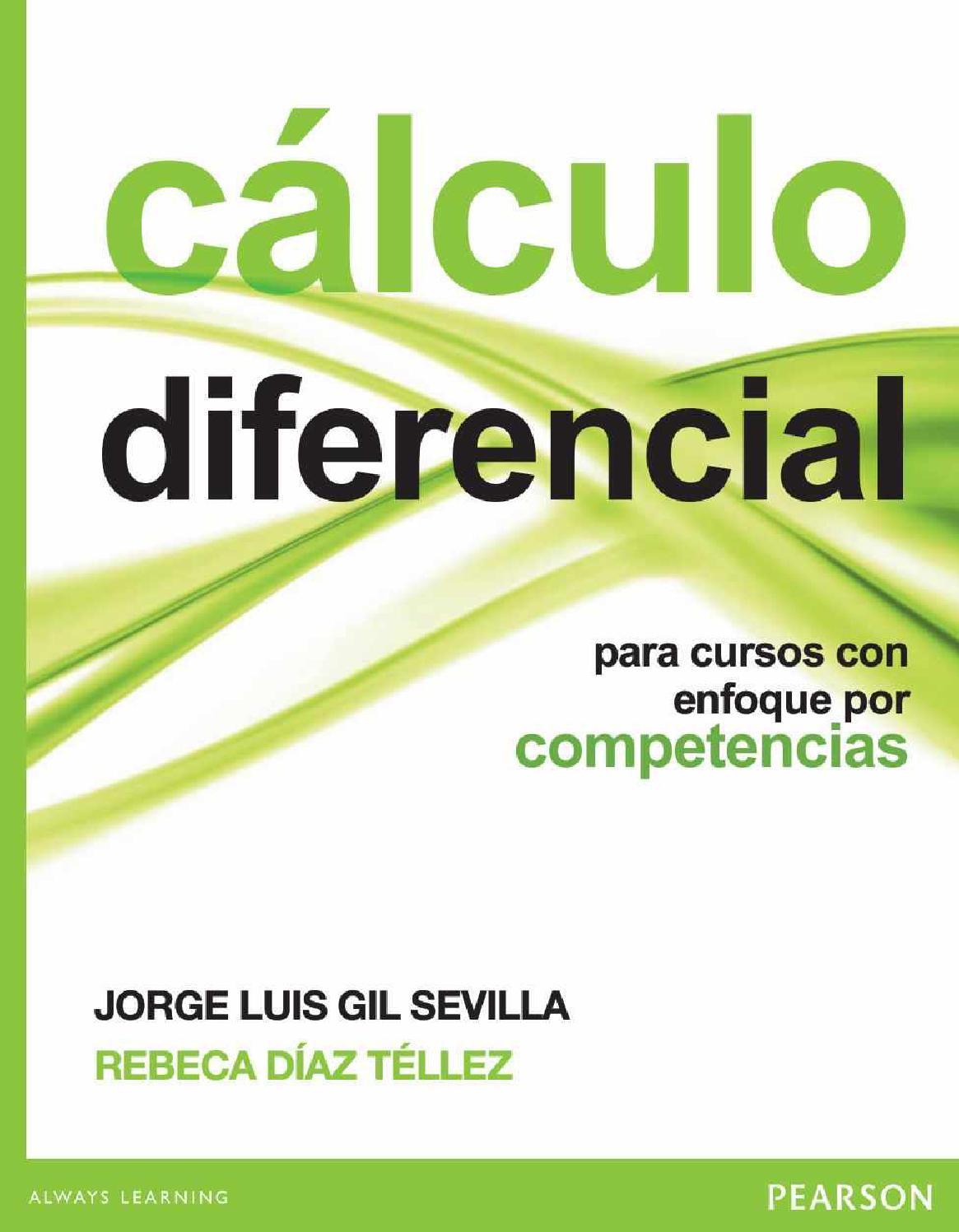 Calculo diferencial (gil sevilla) by club de matemáticas y ciencias ...