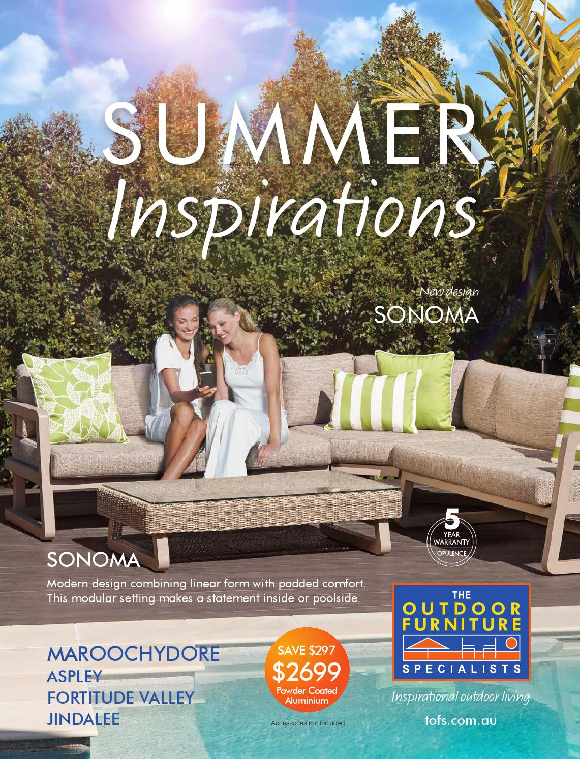 The outdoor furniture specialists maroochydore summer inspirations catalogu