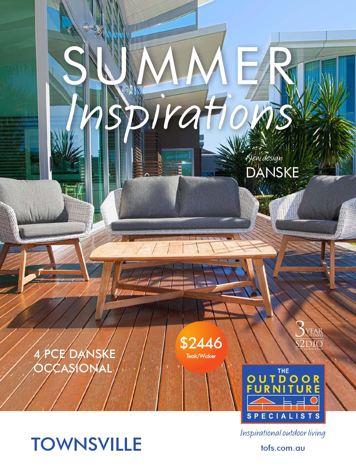 summer outdoor furniture. The Outdoor Furniture Specialists - Townsville. Summer Inspirations Catalogue By TOFS: Issuu
