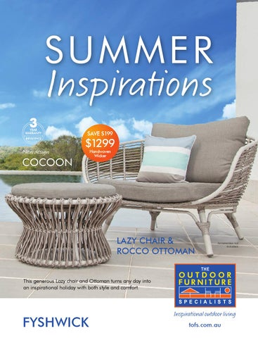 the outdoor furniture specialists fyshwick summer inspirations rh issuu com outdoor furniture catalogs outdoor furniture specialists catalogue
