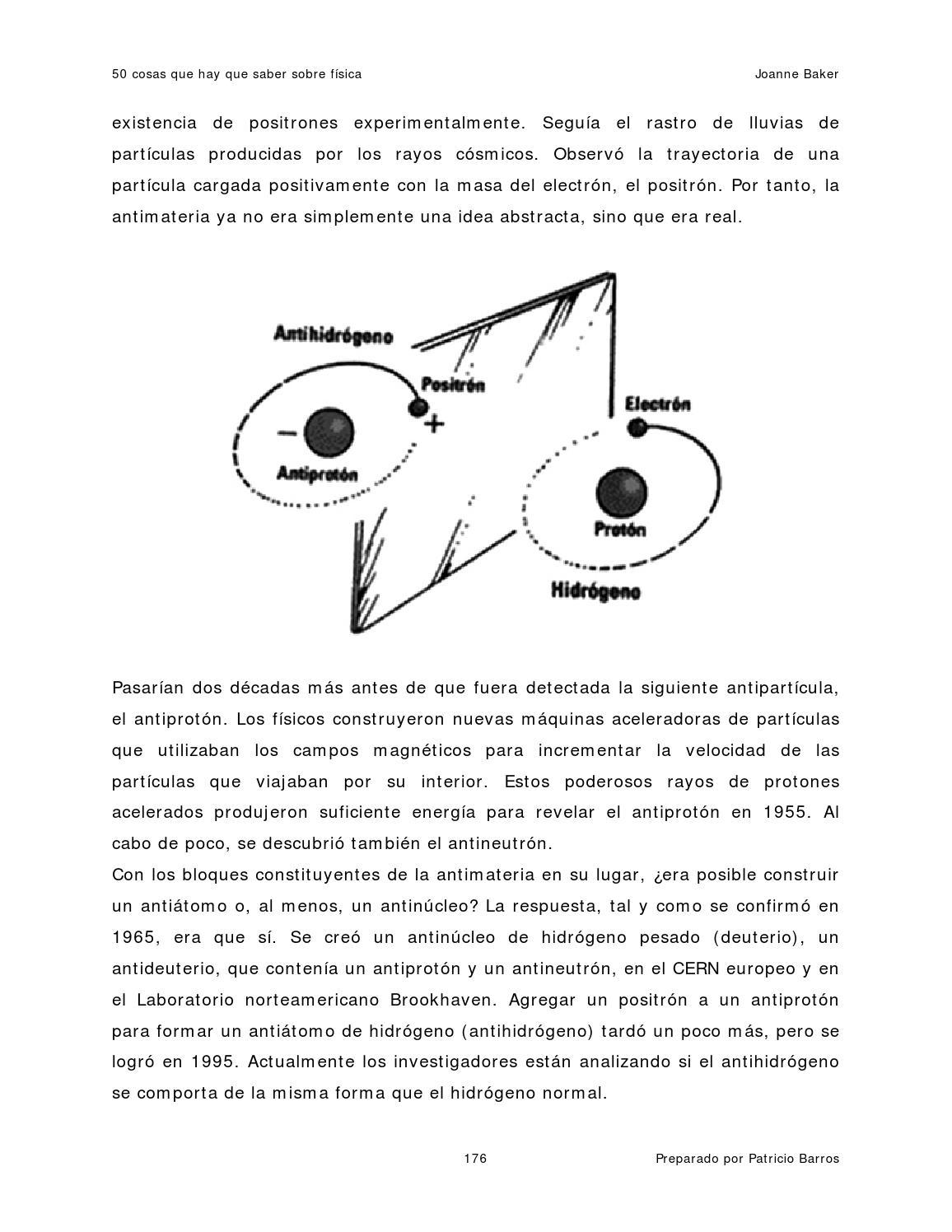 50 cosas que hay que saber sobre física joanne baker