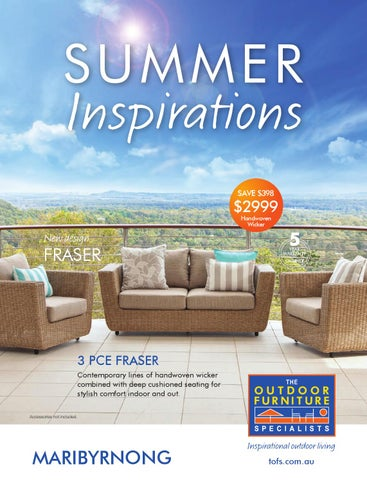 The Outdoor Furniture Specialists   Maribyrnong. Summer Inspirations  Catalogue Part 10