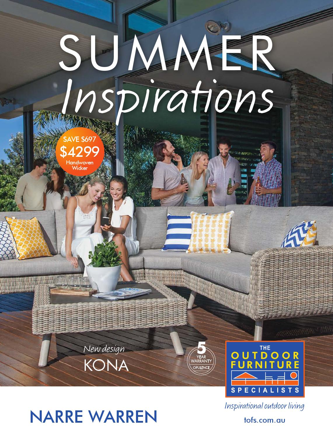 Exceptional The Outdoor Furniture Specialists   Narre Warren. Summer Inspirations  Catalogue By TOFS: The Outdoor Furniture Specialists   Issuu Part 6