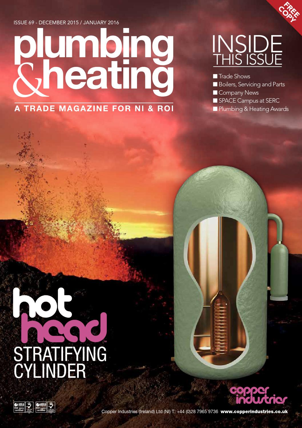 Plumbing And Heating Magazine Issue69 By Karen Mcavoy