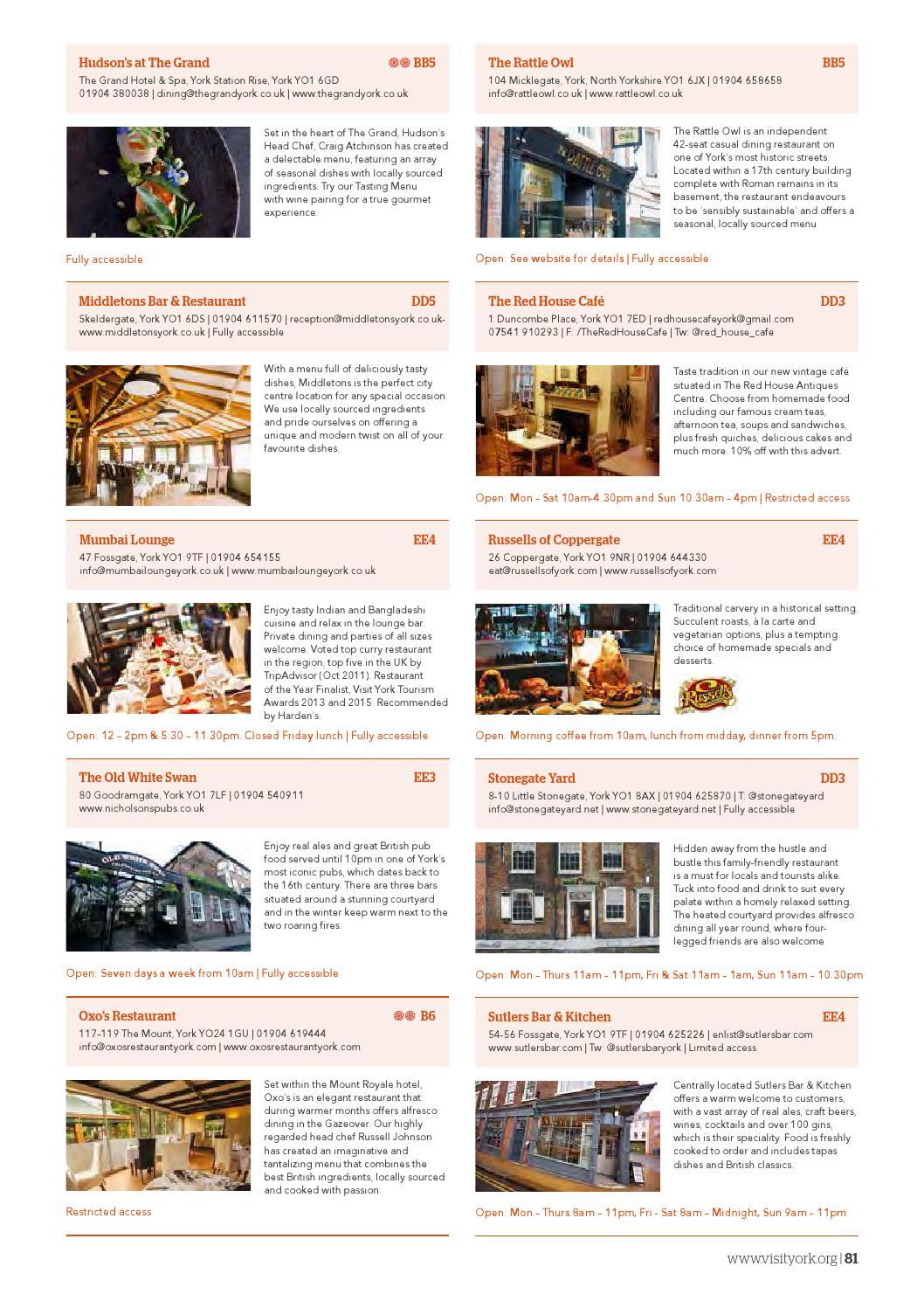 York Destination Guide 2016 by Visit York - issuu