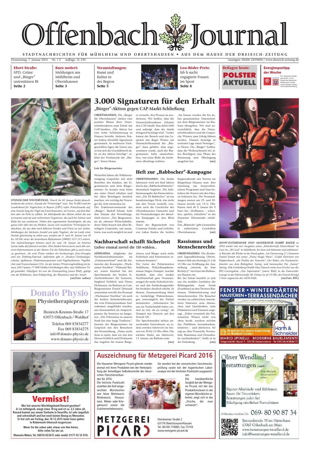0b51c487eaa92 Dz online 001 16 f by Dreieich-Zeitung Offenbach-Journal - issuu